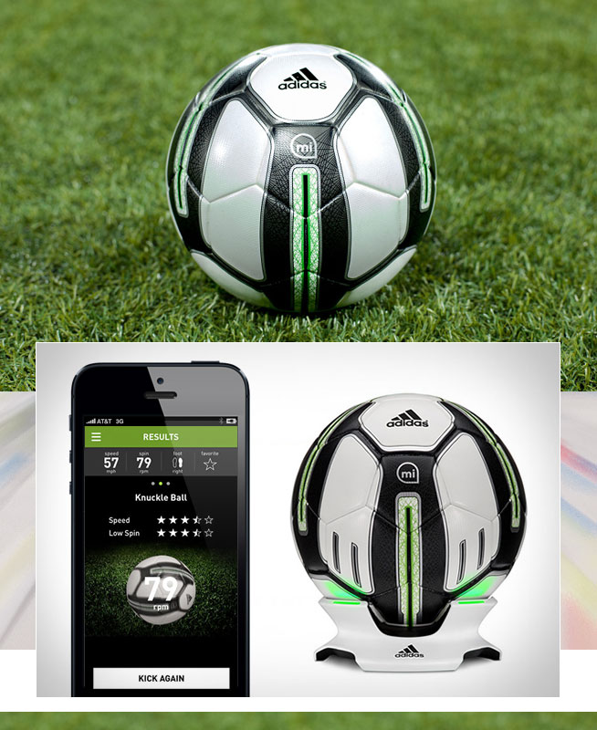 m coach smart soccer ball mieten