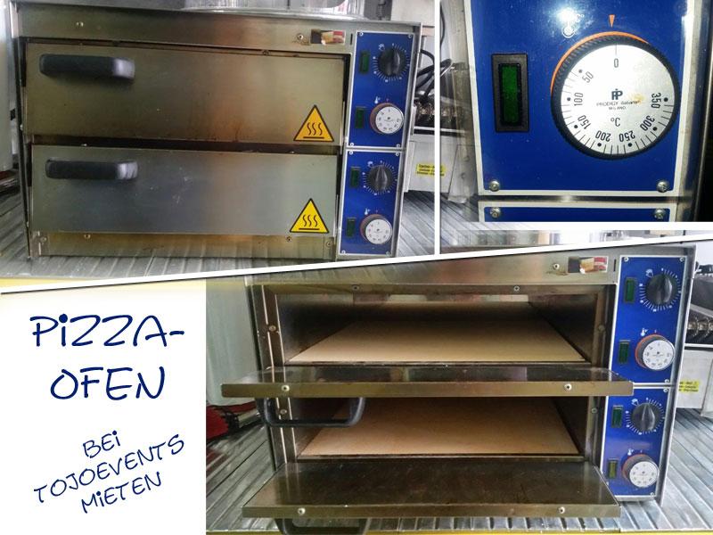 Pizza-Ofen mieten
