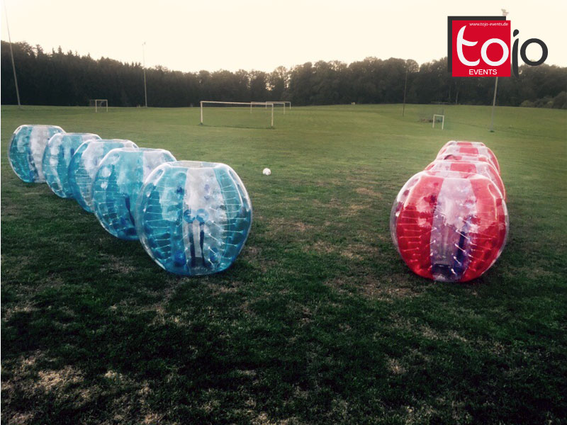 Bubble Soccer - Loopy Ball - Zorbing Soccer - Bubble Ball mieten