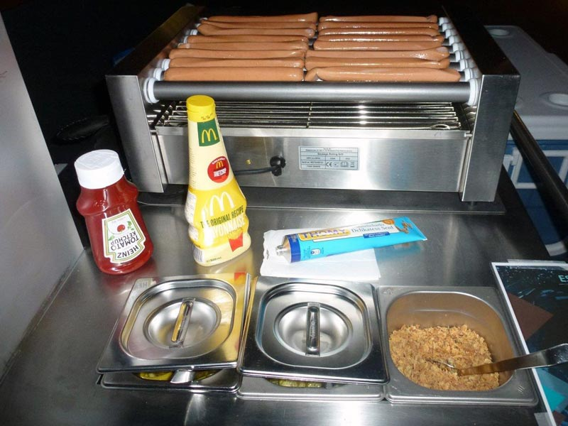 Hot-Dog-Stand mieten