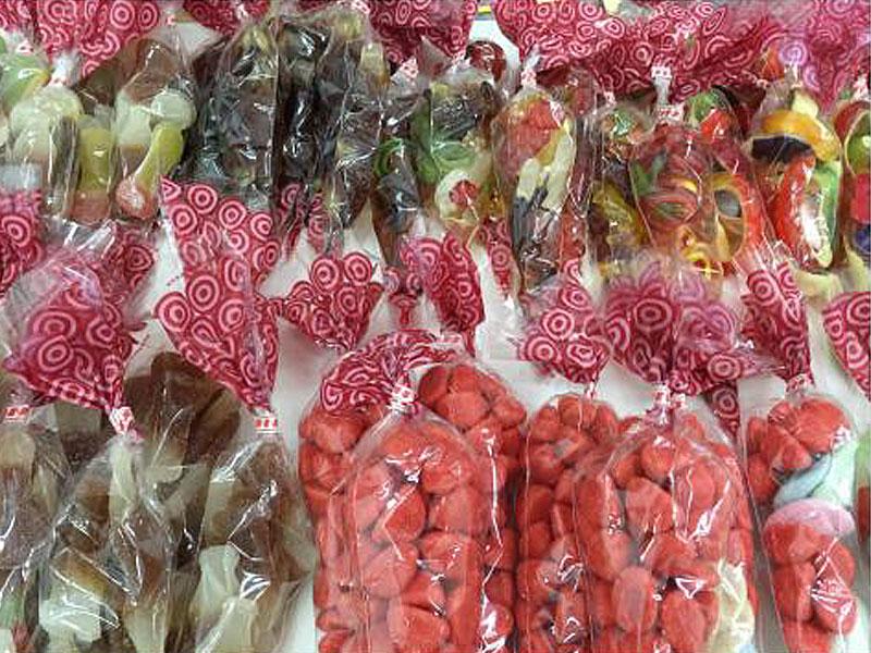 Süßwarenstand - Süßigkeitenstand