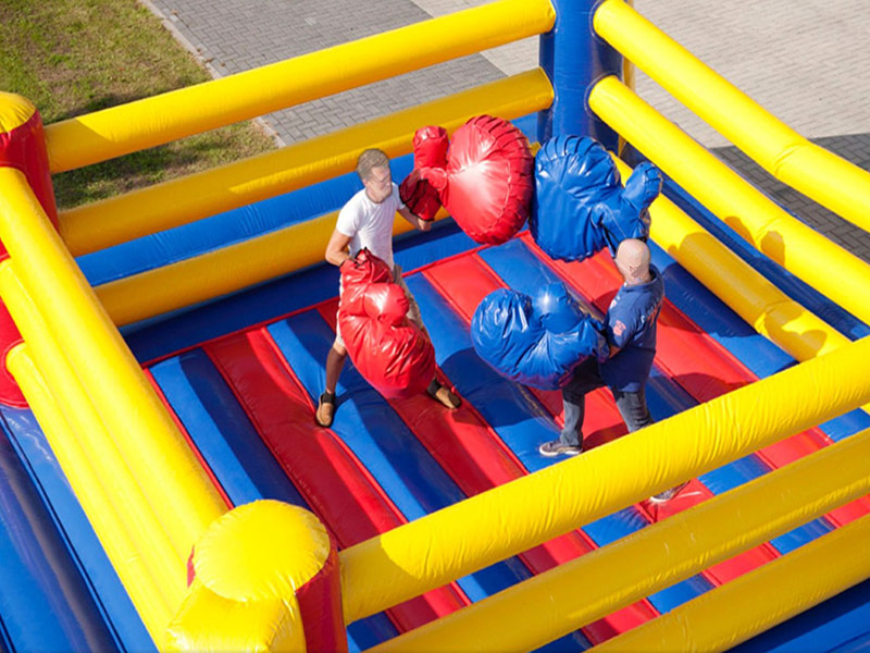 Bouncy Boxen – Boxring XXL
