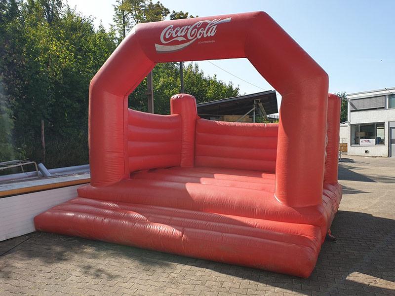 Hüpfburg Coca-Cola
